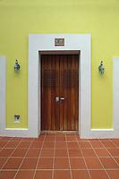 Puerto Rico, San Juan, Doorway, Old San Juan