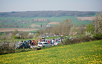 peloton over the Camerig climb<br /> <br /> 50th Amstel Gold Race 2015
