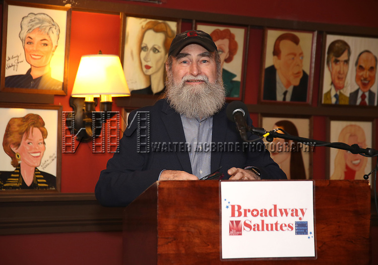 Michael David attends Broadway Salutes 10 Years - 2009-2018 at Sardi's on November 13, 2018 in New York City.