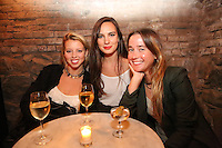 Courtney Hill, Adrienne Totoro and Julia Buchmiller attend the private screening of ABC's new show Selfie at the Wythe Hotel's cinema in Brooklyn on September 24, 2014