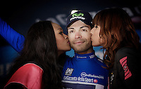 winner of the maglia azzurra: Giovanni Visconti (ITA/Movistar)<br /> <br /> Giro d'Italia 2015<br /> (finish of) stage 20: Saint Vincent - Sestriere (199km)