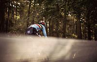 Jarno Bellens (BEL) chasing. <br /> <br /> UEC CYCLO-CROSS EUROPEAN CHAMPIONSHIPS 2018<br /> 's-Hertogenbosch – The Netherlands<br /> Men U23 Race