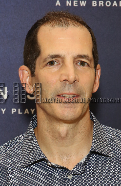 """Playwright Christopher Demos-Brown attends the Cast photo call for the New Broadway Play """"American Son"""" on September 14, 2018 at the New 42nd Street Studios in New York City."""