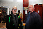 celebration of the full accreditation status of Millmount Museum were Ron Conroy and Gerry McKeown<br /> Picture: Fran Caffrey www.newsfile.ie