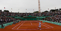 Jurgen Melzer (AUT) (22) against David Ferrer (ESP) (9) in the second round of the men's singles. Jurgen Melzer beat David Ferrer 6-4 6-0 7-6..Tennis - French Open - Day 7 - Say 30 May 2010 - Roland Garros - Paris - France..© FREY - AMN Images, 1st Floor, Barry House, 20-22 Worple Road, London. SW19 4DH - Tel: +44 (0) 208 947 0117 - contact@advantagemedianet.com - www.photoshelter.com/c/amnimages