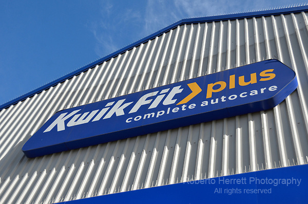 Kwik Fit Plus complete autocare in Edgware Road, Colindale, London, UK.