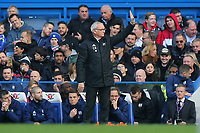 Fulham Manager, Claudio Ranieri, acknowledges the away supporters during Chelsea vs Fulham, Premier League Football at Stamford Bridge on 2nd December 2018