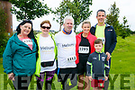 At the Rose of Tralee 10k in the Tralee Wetlands on Sunday were Caroline Toal, Deirdre Moore, Martin Moore, Morna O'Halloran, Eoin Porter and Joe O'Halloran