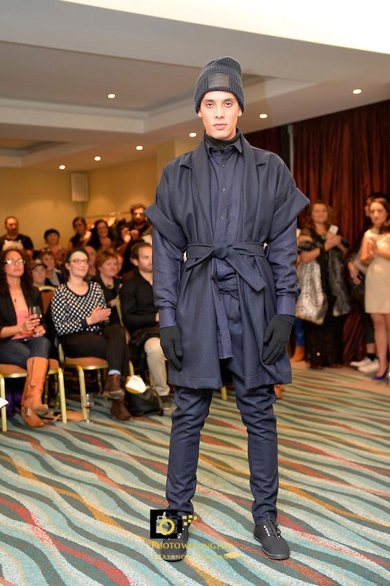 2014 Miromoda Maori Fashion Design Awards Competition at Copthorne Hotel, Oriental Parade, Wellington, New Zealand on Friday 21 June 2014. <br /> Photo by Masanori Udagawa. <br /> www.photowellington.photoshelter.com.