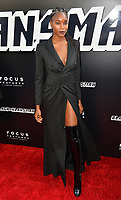 Damaris Lewis at the Los Angeles premiere of &quot;BlacKkKlansman&quot; at the Academy's Samuel Goldwyn Theatre, Beverly Hills, USA 08 Aug. 2018<br /> Picture: Paul Smith/Featureflash/SilverHub 0208 004 5359 sales@silverhubmedia.com