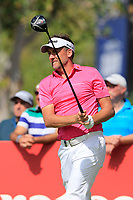 Ian Poulter (ENG) on the 16th tee during the 2nd round of the DP World Tour Championship, Jumeirah Golf Estates, Dubai, United Arab Emirates. 16/11/2018<br /> Picture: Golffile | Fran Caffrey<br /> <br /> <br /> All photo usage must carry mandatory copyright credit (© Golffile | Fran Caffrey)