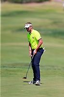 Joost Luiten (NED) on the 9th green during the 1st round of the 2017 Portugal Masters, Dom Pedro Victoria Golf Course, Vilamoura, Portugal. 21/09/2017<br /> Picture: Fran Caffrey / Golffile<br /> <br /> All photo usage must carry mandatory copyright credit (&copy; Golffile | Fran Caffrey)