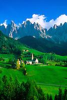 St. Magdalena (Dolomites), Sudtirol region, Northern Italy