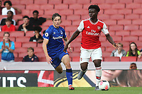 Bakayo Saka of Arsenal in action during Arsenal Under-23 vs Everton Under-23, Premier League 2 Football at the Emirates Stadium on 23rd August 2019