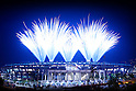 General view, <br /> AUGUST 5, 2016 : <br /> Opening Ceremony <br /> at Maracana <br /> during the Rio 2016 Olympic Games in Rio de Janeiro, Brazil. <br /> (Photo by Sho Tamura/AFLO SPORT)