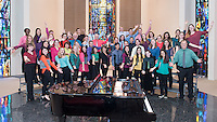 The College Chorus, Nov. 20, 2016, led by Desiree LaVertu. They performed in Herrick Chapel for the Oxy community.<br /> (Photo by Marc Campos, Occidental College Photographer)