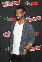 NEW YORK, NY - OCTOBER 07: Isiah Mustafa from the cast of the Shadowhunters attend the press day at New York ComicCon at the Theater at Madison Square Garden on October 7, 2017 in New York City. NEW YORK, NY - OCTOBER 07: Isiah Mustafa from the cast of the Shadowhunters attend the press day at New York ComicCon at the Theater at Madison Square Garden on October 7, 2017 in New York City. <br /> CAP/MPI/JP<br /> &copy;JP/MPI/Capital Pictures