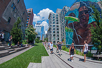 The High Line, Lower West Side, Manhattan, New York, US