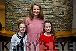 Lara O'Dowd, Harriet McGuigan, Tessa McGuigan at the  Light Opera Society of Tralee's production of West Side Story at Siamsa Tíre on Thursday