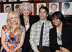 Megan Hilty,Jano Herbosch (President),  Justin Long & Raven-Symone.attending the Announcements for the 2012 Drama League Nominations held at Sardi's on 4/24/2012 in New York City.