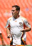 24 June 2007: Houston's Richard Mulrooney. The Houston Dynamo defeated the Kansas City Wizards 1-0 at Arrowhead Stadium in Kansas City, Missouri in a regular season Major League Soccer 2007 game..