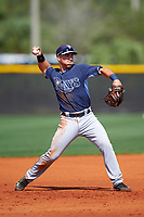 Tampa Bay Rays Jace Conrad (54) during a minor league Spring Training intrasquad game on April 1, 2016 at Charlotte Sports Park in Port Charlotte, Florida.  (Mike Janes/Four Seam Images)