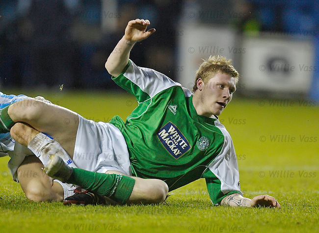 Garry O'Connor, Hibs.stock season 2005-2006.pic willie vass