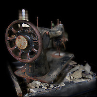Rusty sewing machine