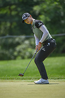 Sung Hyun Park (KOR) barely misses her birdie putt on 10 during round 4 of the 2018 KPMG Women's PGA Championship, Kemper Lakes Golf Club, at Kildeer, Illinois, USA. 7/1/2018.<br /> Picture: Golffile | Ken Murray<br /> <br /> All photo usage must carry mandatory copyright credit (&copy; Golffile | Ken Murray)