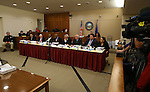 The Assembly Select Committee meets at the Carson City Courthouse, in Carson City, Nev., on Tuesday, March 26, 2013. Lawmakers are working to determine whether Assemblyman Steven Brooks, D-North Las Vegas, is fit to serve his term..Photo by Cathleen Allison