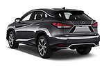Car pictures of rear three quarter view of a 2020 Lexus RX Hybrid 450h 5 Door SUV angular rear