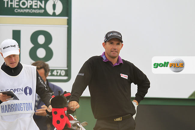 Padraig HARRINGTON (IRL) during round 4 of  The 142th Open Championship Muirfield, Gullane, East Lothian, Scotland 21/7/2013<br /> Picture Eoin Clarke www.golffile.ie: