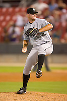 Ryan Rote #17 of the Birmingham Barons in action versus the Carolina Mudcats at Five County Stadium August 15, 2009 in Zebulon, North Carolina. (Photo by Brian Westerholt / Four Seam Images)