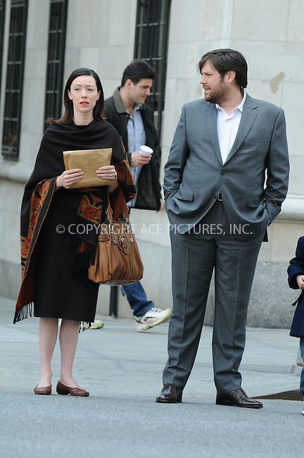 WWW.ACEPIXS.COM . . . . .  ....May 22 2009, New York City....Actors Molly Parker and Zak Orth were on the set of the new TV show 'The Wonderful Miladys' on May 22 2009 in New York City....Please byline: AJ Sokalner - ACEPIXS.COM.... *** ***..Ace Pictures, Inc:  ..(212) 243-8787 or (646) 769 0430..e-mail: picturedesk@acepixs.com..web: http://www.acepixs.com