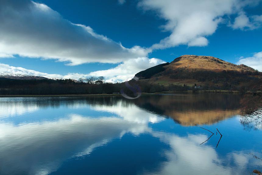 Sron a Chlachain and the River Lochay, Killin, Stirlingshire