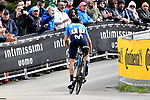 Mikel Landa (ESP) Movistar Team makes up some time on the final climb of Stage 17 of the 2019 Giro d'Italia, running 181km from Commezzadura (Val di Sole) to Anterselva / Antholz, Italy. 29th May 2019<br /> Picture: Fabio Ferrari/LaPresse | Cyclefile<br /> <br /> All photos usage must carry mandatory copyright credit (© Cyclefile | Fabio Ferrari/LaPresse)