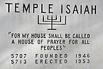 Alyssa BatMitzva Temple Isaiah