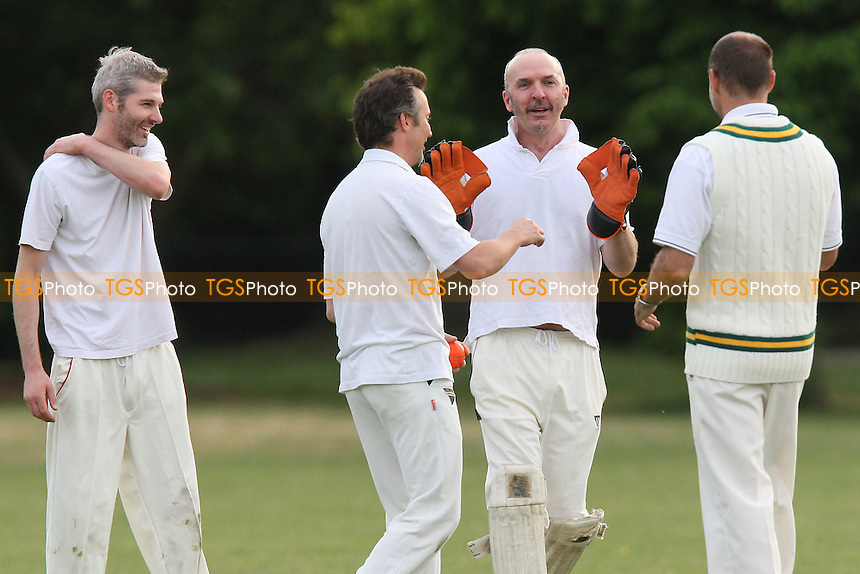 London Fields CC (batting) vs Homerton CC - Victoria Park Community Cricket League - 11/05/11 - MANDATORY CREDIT: Gavin Ellis/TGSPHOTO - Self billing applies where appropriate - Tel: 0845 094 6026