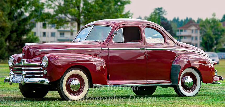1948 Ford Coupe at the Langley Good Times Cruise-In