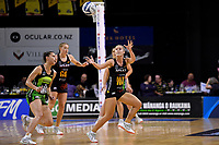 Magic&rsquo;s Ariana Cable-Dixon in action during the ANZ Premiership - Pulse v Magic at TSB Bank Arena, Wellington, New Zealand on Sunday 21 April 2019. <br /> Photo by Masanori Udagawa. <br /> www.photowellington.photoshelter.com