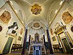 Altar Basilica di Sant'Apollinare Nuevo, 6th century Byzantine mosaics, Ravenna, Italy