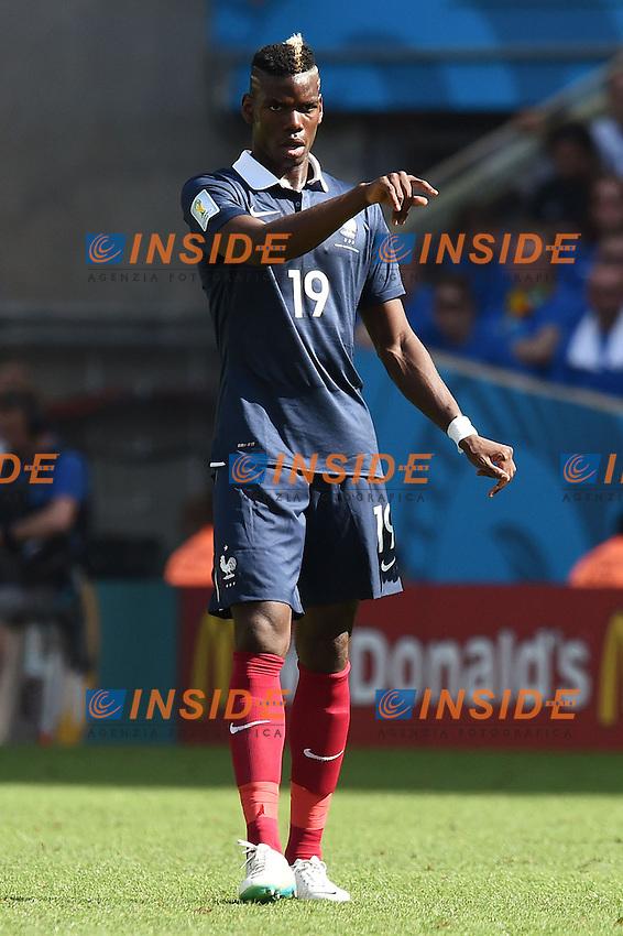 Paul Pogba France <br /> Rio de Janeiro (Brasile) 04-07-2014 Maracana Quarter-Finals / Quarti di finale France - Germany / Francia - Germania. Football 2014 Fifa World Cup Brazil - Campionato del Mondo di Calcio  Brasile 2014 <br /> Foto Insidefoto
