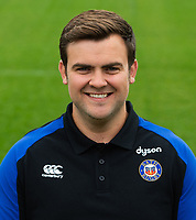 Dan Cooper of Bath Rugby poses for a portrait. Bath Rugby Media Day on August 14, 2018 at Farleigh House in Bath, England. Photo by: Patrick Khachfe / Onside Images
