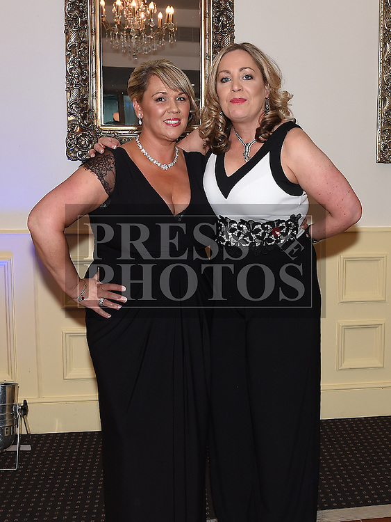 Geraldine McDowell celebrating her 40th birthday in The d hotel with best friend Terry Tuohy. Photo:Colin Bell/pressphotos.ie