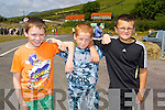 Pictured at the opening of the Annascaul Road on Friday last were l-r: Maurice Flahive, Sean Finn and Tommy Finn (all Annascaul).