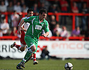 Mark Preece of Forest Green Rovers during the Blue Square Premier match between Stevenage Borough and Forest Green Rovers at the Lamex Stadium, Broadhall Way, Stevenage on Saturday 10th April, 2010 ..© Kevin Coleman 2010