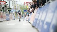Tour of Belgium 2013.stage 3: iTT..Niki Terpstra (NLD) with 50m to go