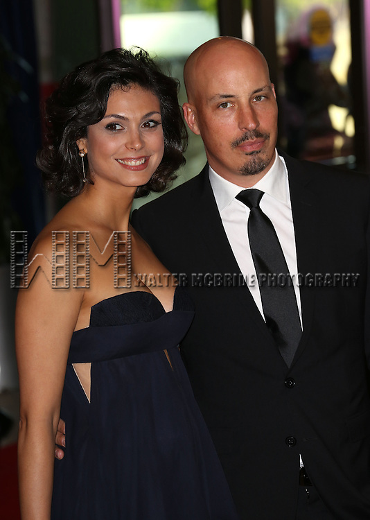 Morena Baccarin & husband Austin Chick  attending the  2013 White House Correspondents' Association Dinner at the Washington Hilton Hotel in Washington, DC on 4/27/2013