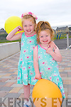 Ellie Mai and Daisy Breen enjoying the Crollar Na Mistealach Family fun day on Saturday