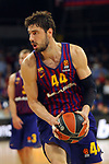 Turkish Airlines Euroleague 2018/2019. <br /> Regular Season-Round 30.<br /> FC Barcelona Lassa vs Khimki Moscow Region: 83-74. <br /> Ante Tomic.